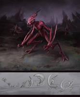 Alien Concept - Splincer by Wildweasel339