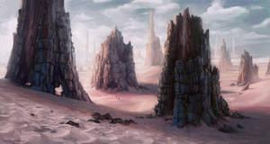 Monolith Desert by Wildweasel339