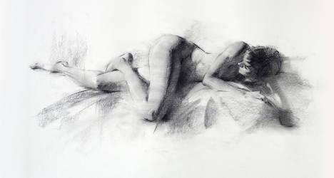Figure Drawing 2hr by Wildweasel339