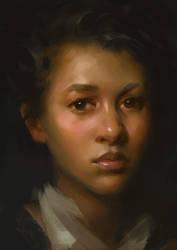 Portrait Study by Wildweasel339