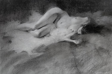 Figure Drawing _ by Wildweasel339