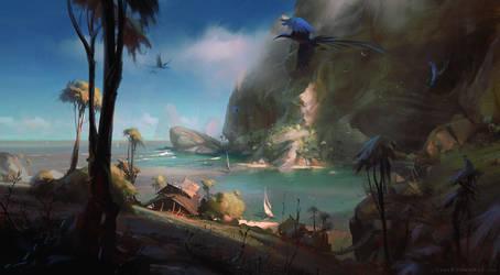 Azure Cove by Wildweasel339