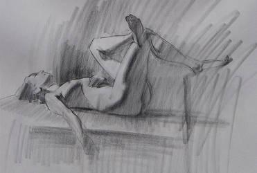 Figure Drawing -Reclining by Wildweasel339