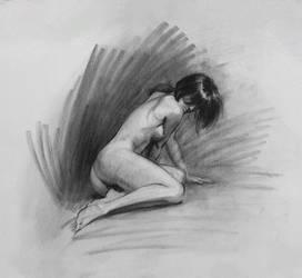 Figure Drawing by Wildweasel339
