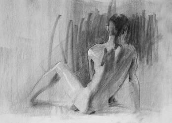 Figure Drawing m by Wildweasel339