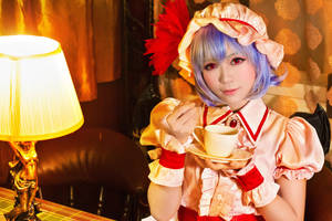 remilia's tea time by Godling-Studio