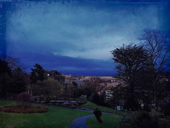 Tintype Autumn in Pannett Park 3 by Lisa-Downing