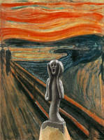 The Scream of Nature (Edvard Munch) by TOLDart