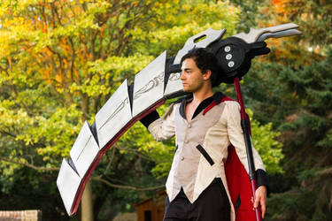 Qrow - Harbinger of bad luck by grrrmiecosplay
