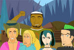 Total Drama: One photo with my dudes ? by GeorgiKordev