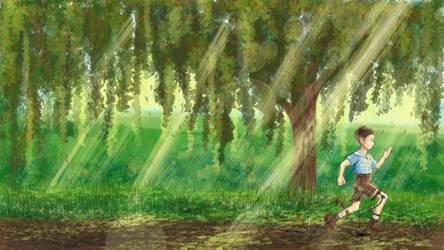 Run Forest Run by isabellart14