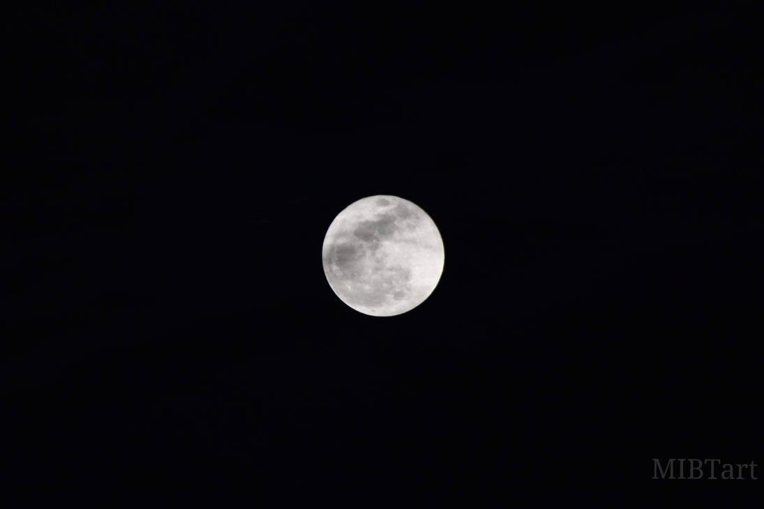 Full Moon by isabellart14