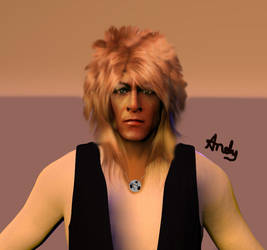 Jareth (The Goblin King) by andy-goldstraw