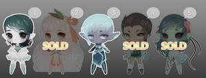 [CLOSED] Chibi Elf Adopts by Valkymie