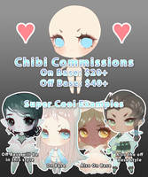 [OPEN-4 slots!] Chibi Commissions Info by Valkymie