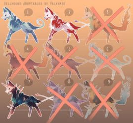[OPEN] Hellhound Adopts 1 by Valkymie