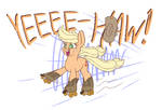 NATG Applejack boot skater by Heir-of-Rick