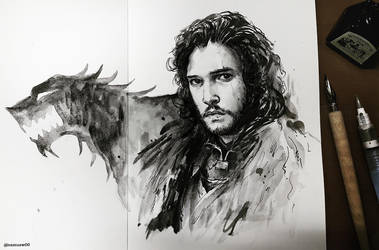 Jon Snow by namusw