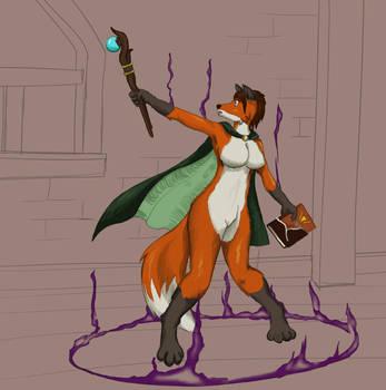 Patreon Request 004 - Vixen Magic by MaLAgua
