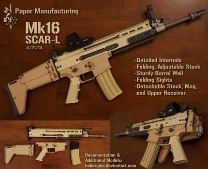 PM Mk16 SCAR-L by Hoborginc