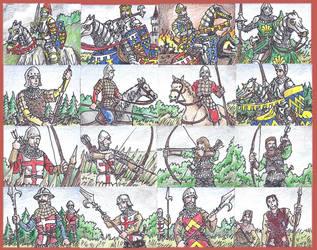 English (1300-1450) by Hoborginc