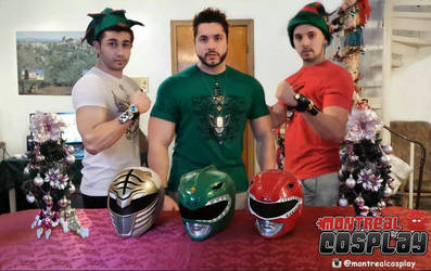 Power Ranger Holiday!!! by MontrealCosplay