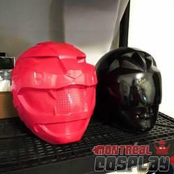 Wildforce/Zeo Helmets by MontrealCosplay