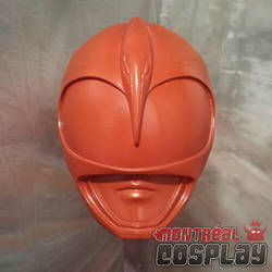 Pink MMPR Helmet by MontrealCosplay