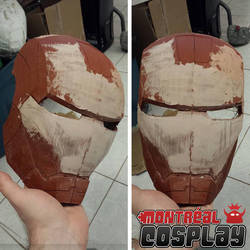 Iron Man Cosplay Mask Prop  by MontrealCosplay