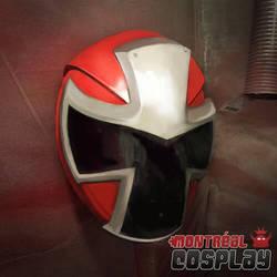Shuriken Sentai Ninninger - Cosplay Helmet  by MontrealCosplay