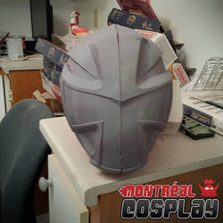 Shuriken Sentai Ninninger Helmet by MontrealCosplay