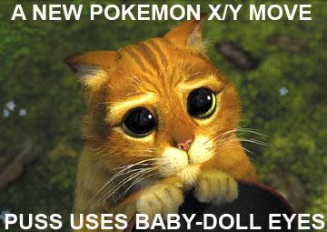 A New Pokemon X Y Move Baby Doll Eyes By Azael1332ragnarok On