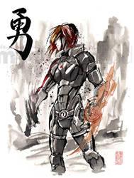 Female Shepard Sumie by MyCKs