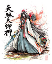Amaterasu Omikami or Okami by MyCKs