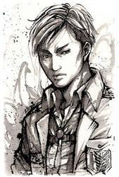 Erwin Smith Sumi Ink draw by MyCKs