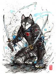 Year of the Dog 2018...samurai by MyCKs