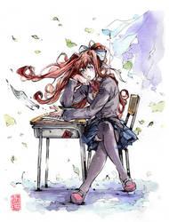 Monika from Doki Doki by MyCKs