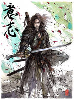 Aragorn... samurai! by MyCKs