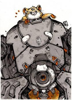 Hammond from Overwatch by MyCKs