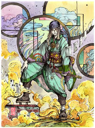 Mononoke Kusuri Uri - Medicine Seller by MyCKs