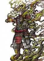 Spirit of Tree - samurai by MyCKs