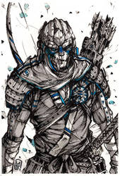 Samurai Garrus Giveaway! by MyCKs