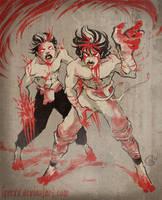 Ninja Apocalypse by JenrenG