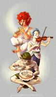 Ballad of Light by JenrenG