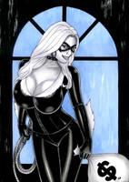 Black Cat by sidneydesenhus