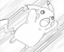 Pikachu Drawing by charmanderfan7
