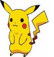 Pikachu Original Drawing by charmanderfan7