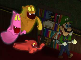 Luigi's Mansion by pikachuandpichu106