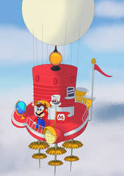 Super Mario Odyssey by pikachuandpichu106