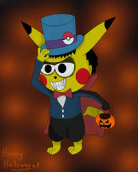 Trick or Treat by pikachuandpichu106